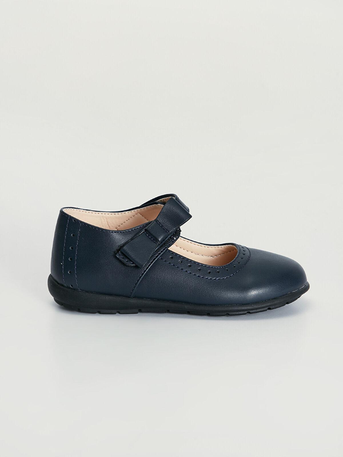 Kız Çocuk Cırt Cırtlı Babet Ayakkabı - LC WAIKIKI