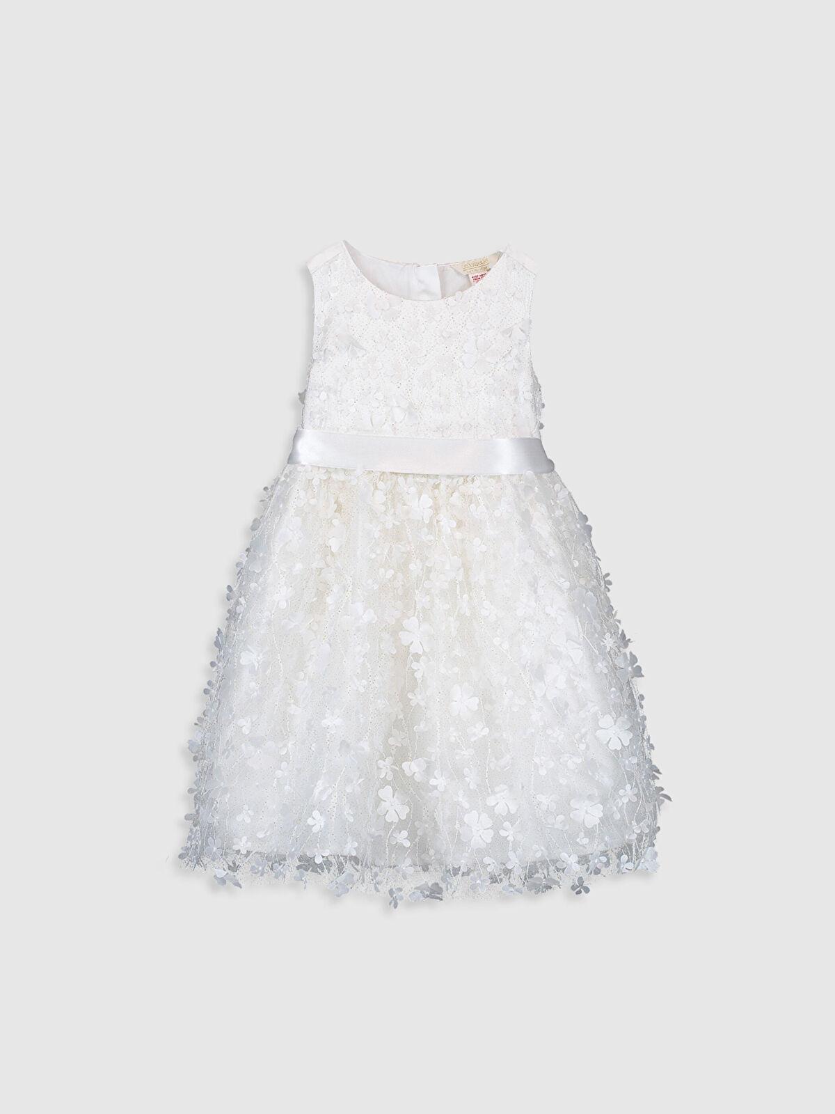 Kız Çocuk Çiçekli Tütü Elbise - LC WAIKIKI