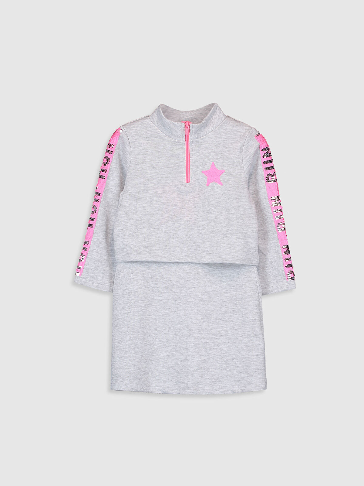 Kız Çocuk Elbise ve Sweatshirt - LC WAIKIKI