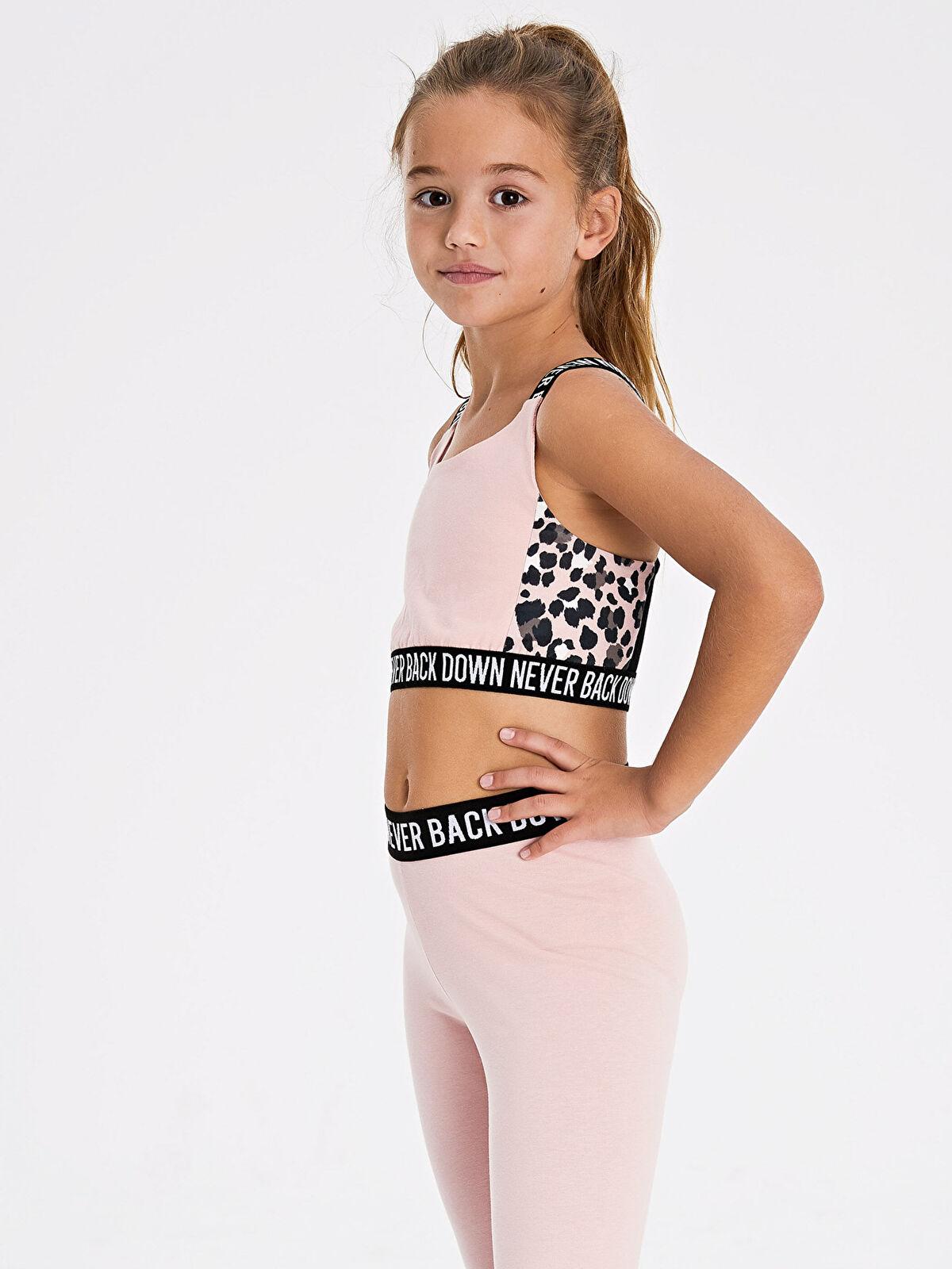 Kız Çocuk Aktif Spor Yarım Atlet - LC WAIKIKI