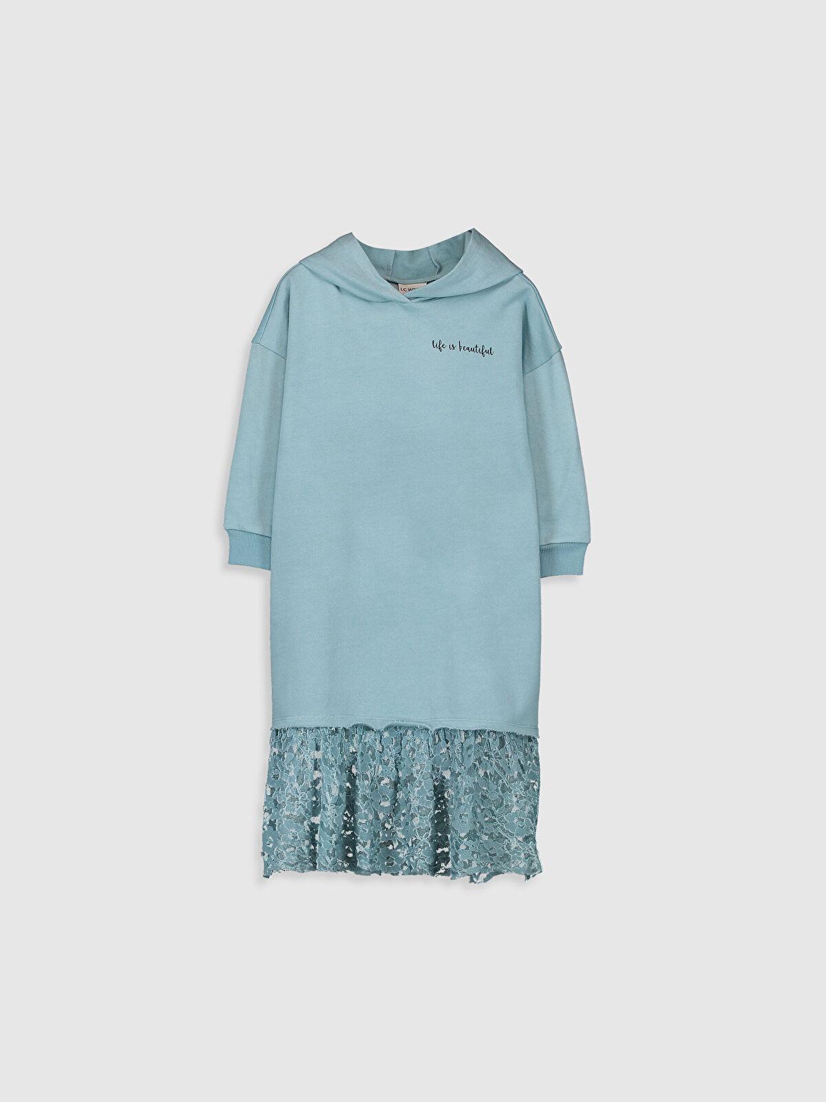 Diz Altı Düz Elbise - LC WAIKIKI