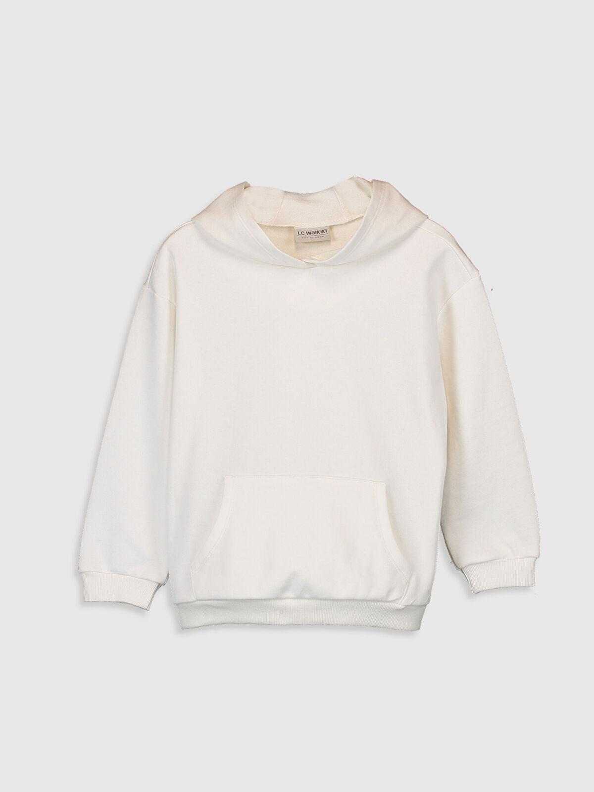 Kız Çocuk Kapüşonlu Sweatshirt - LC WAIKIKI