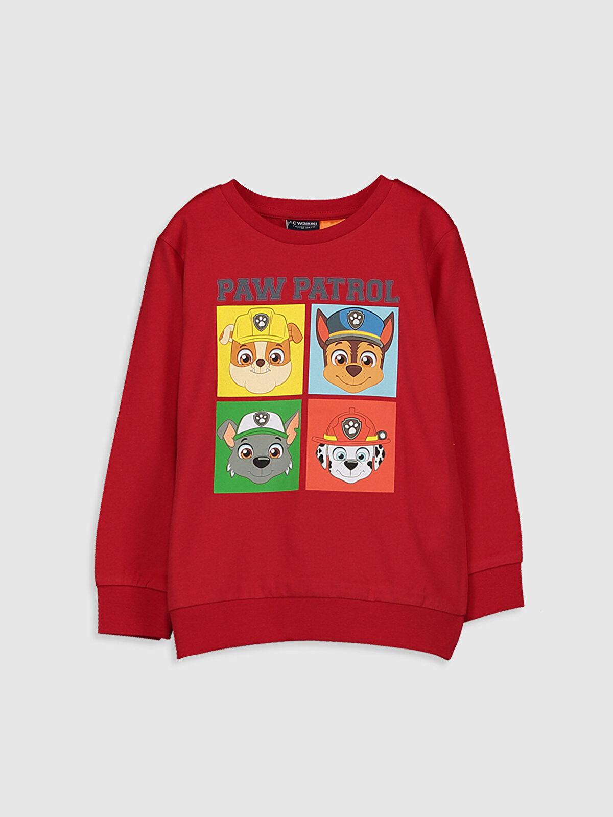 Erkek Çocuk Paw Patrol Baskılı Pamuklu Tişört - LC WAIKIKI