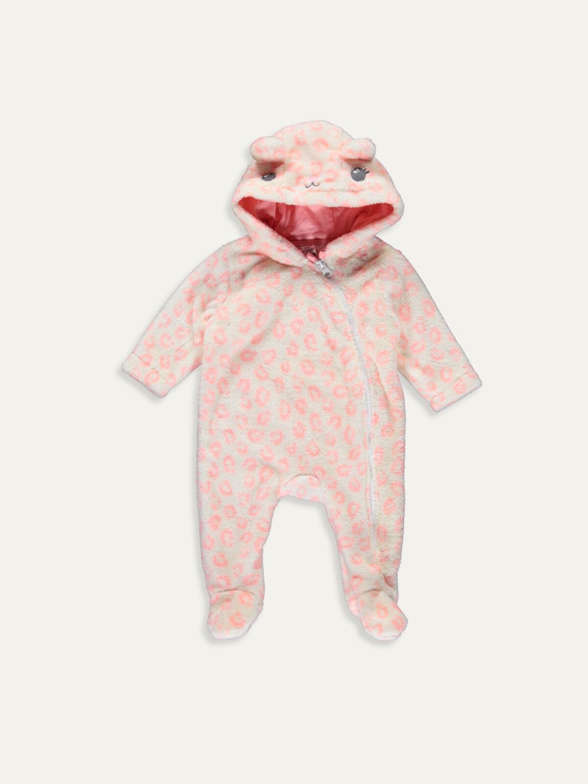 Kız Bebek Fermuarlı Polar Tulum - LC WAIKIKI