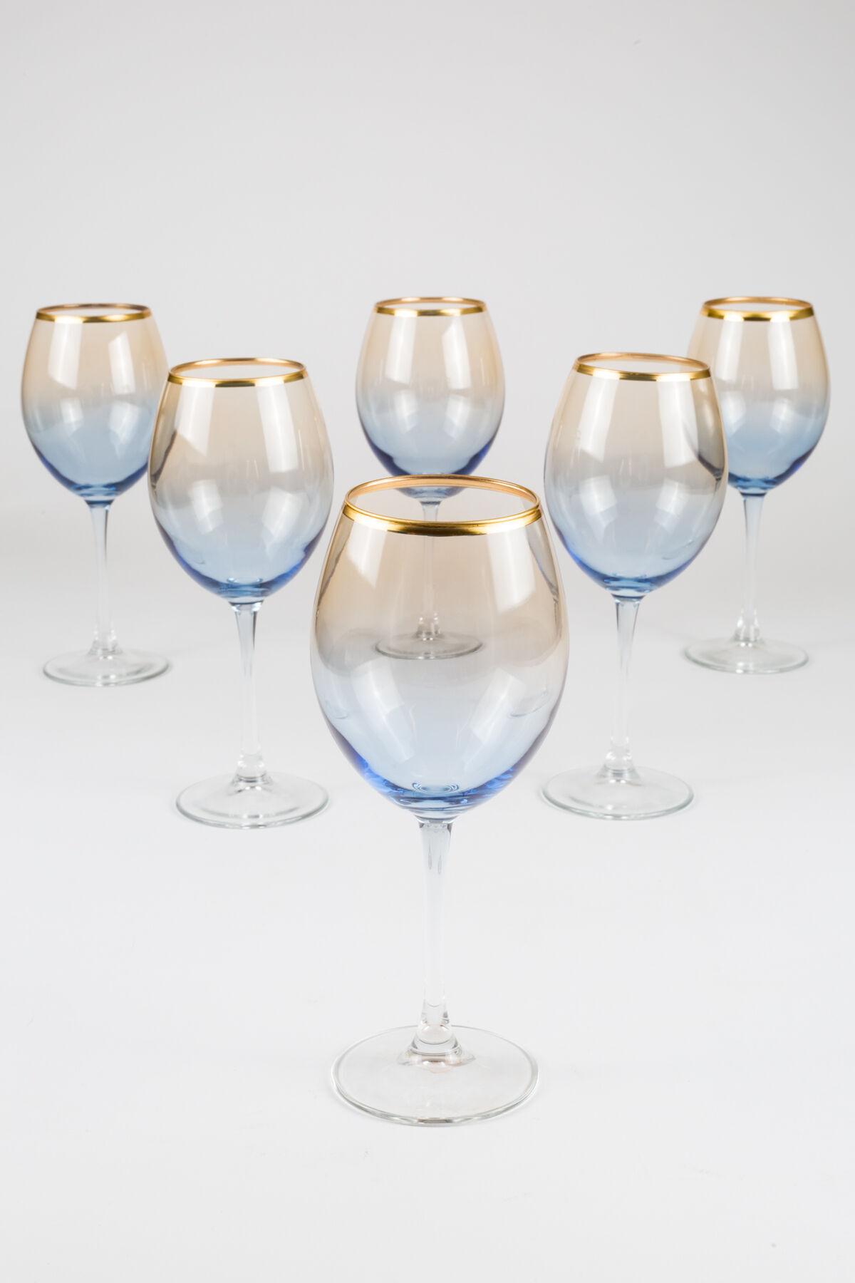 Rakle 550 cc Serenade 6'lı Ayaklı Su Bardağı - Markalar