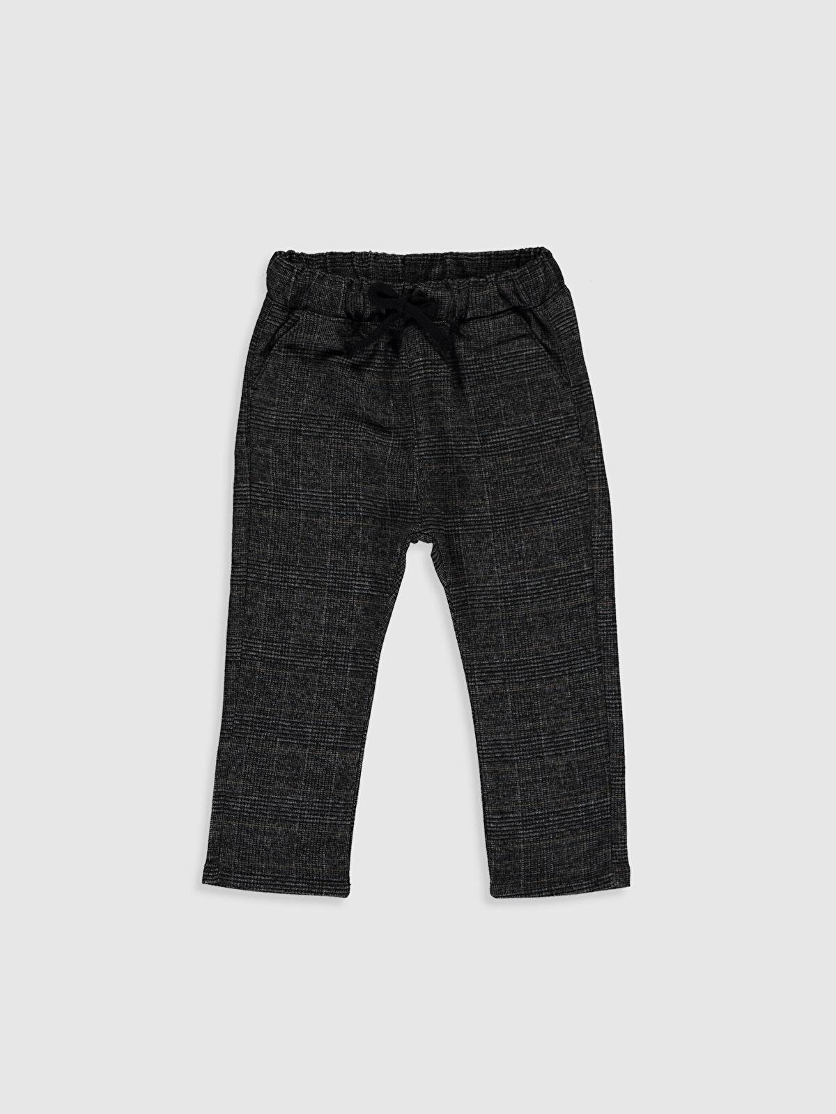 Erkek Bebek Ekose Kalın Pantolon - LC WAIKIKI