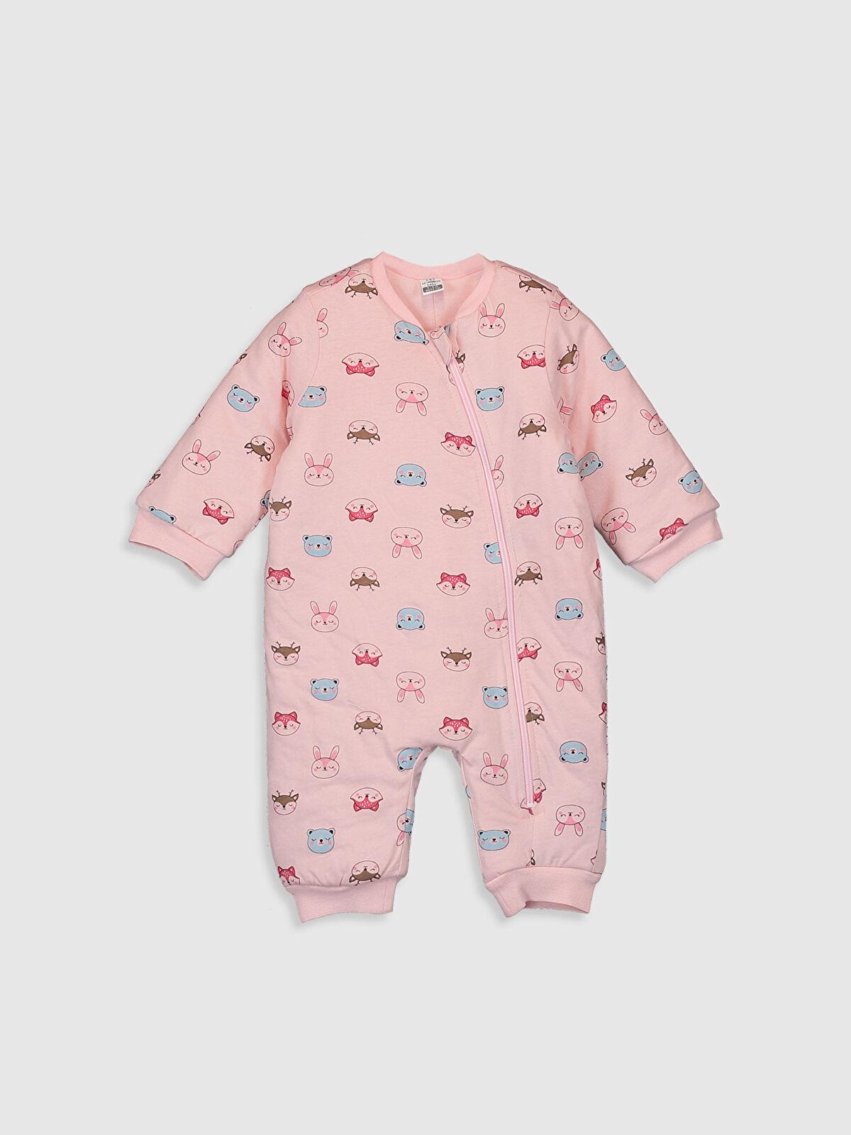 Kız Bebek Baskılı Uyku Tulumu - LC WAIKIKI