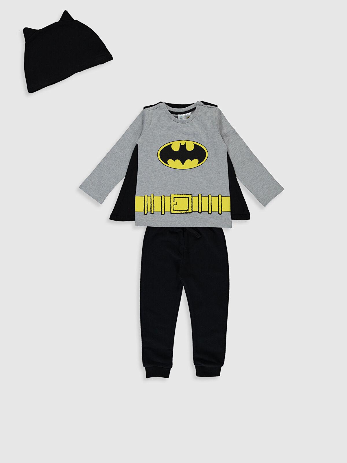 Erkek Bebek Batman Baskılı Takım 4'lü - LC WAIKIKI