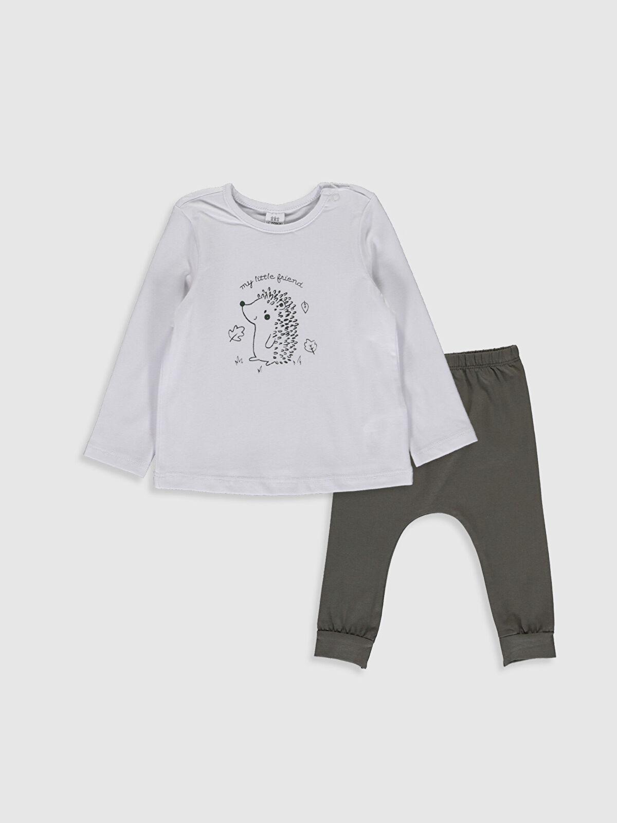 Erkek Bebek Baskılı Pijama Takım - LC WAIKIKI