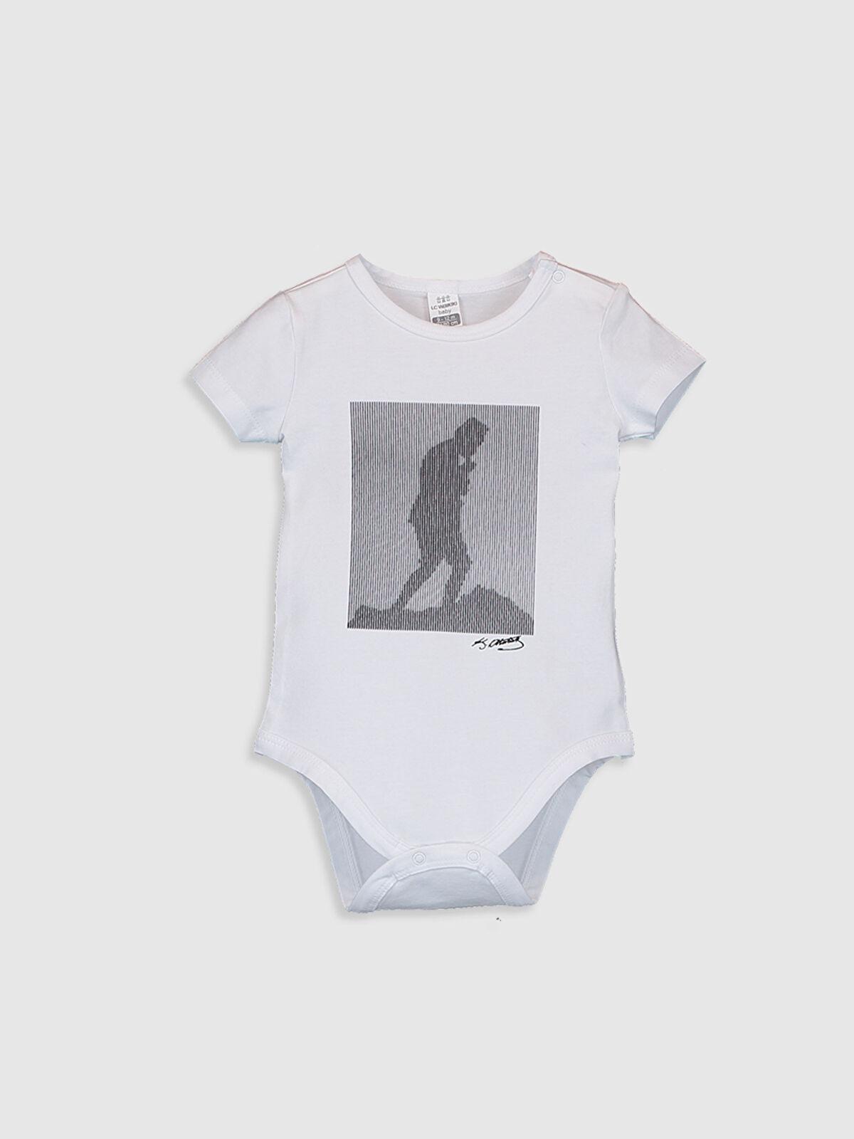Aile Koleksiyonu Erkek Bebek Atatürk Baskılı Çıtçıtlı Body - LC WAIKIKI
