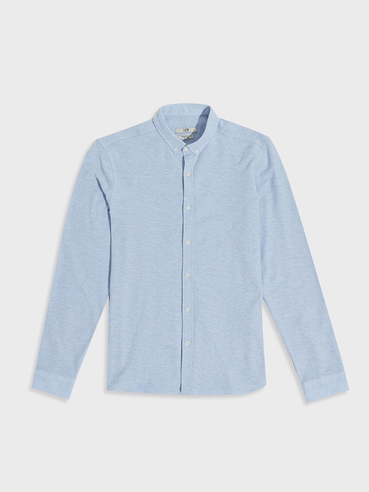 Slim Fit Basic Gömlek - LC WAIKIKI