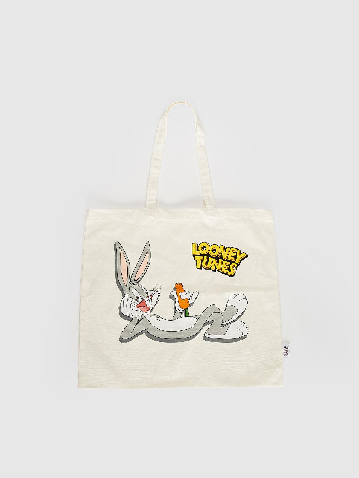 Bugs Bunny Baskılı Bez Çanta - LC WAIKIKI