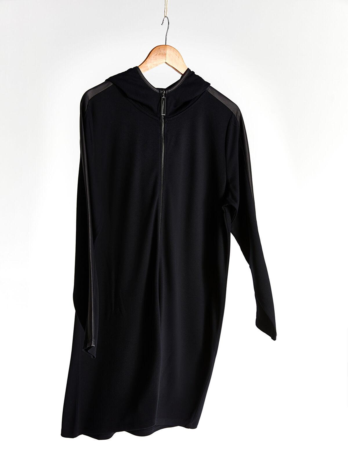 Kapüşonlu Fermuarlı Sweatshirt - LC WAIKIKI