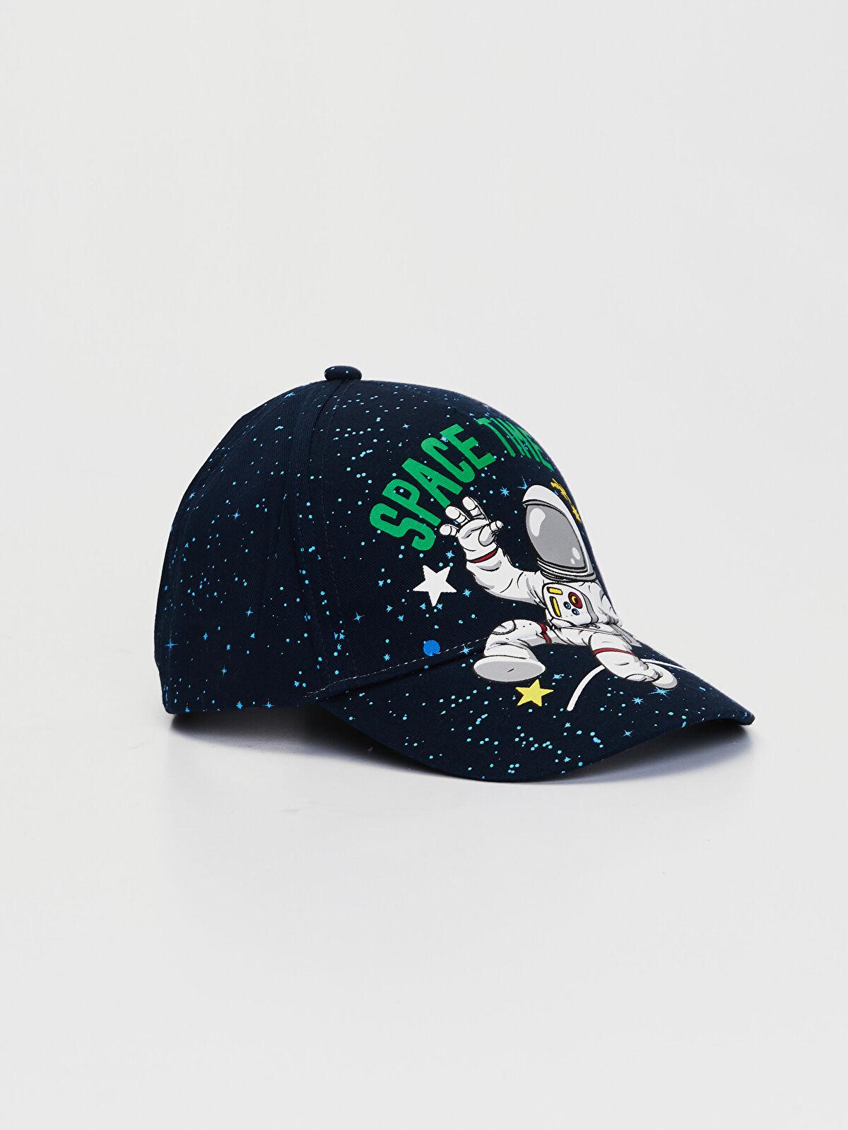 Erkek Çocuk Astronot Baskılı Şapka - LC WAIKIKI