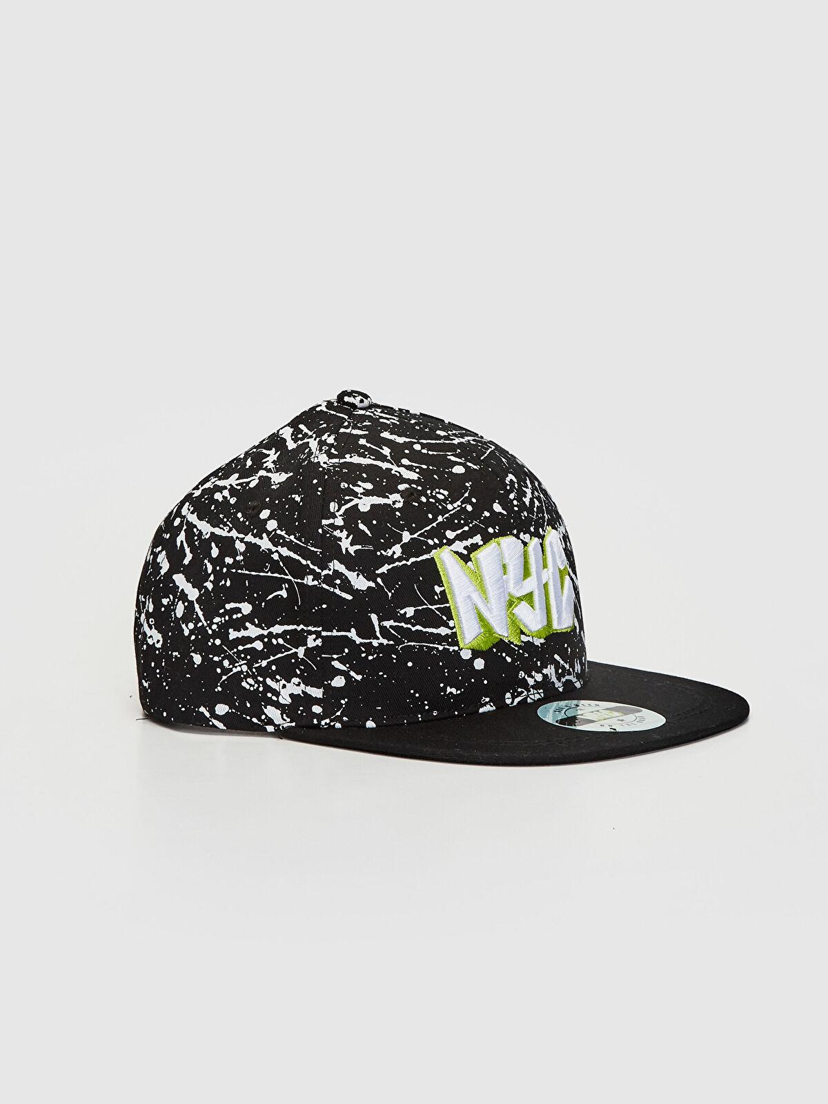 Erkek Çocuk Nakışlı Hip Hop Şapka - LC WAIKIKI