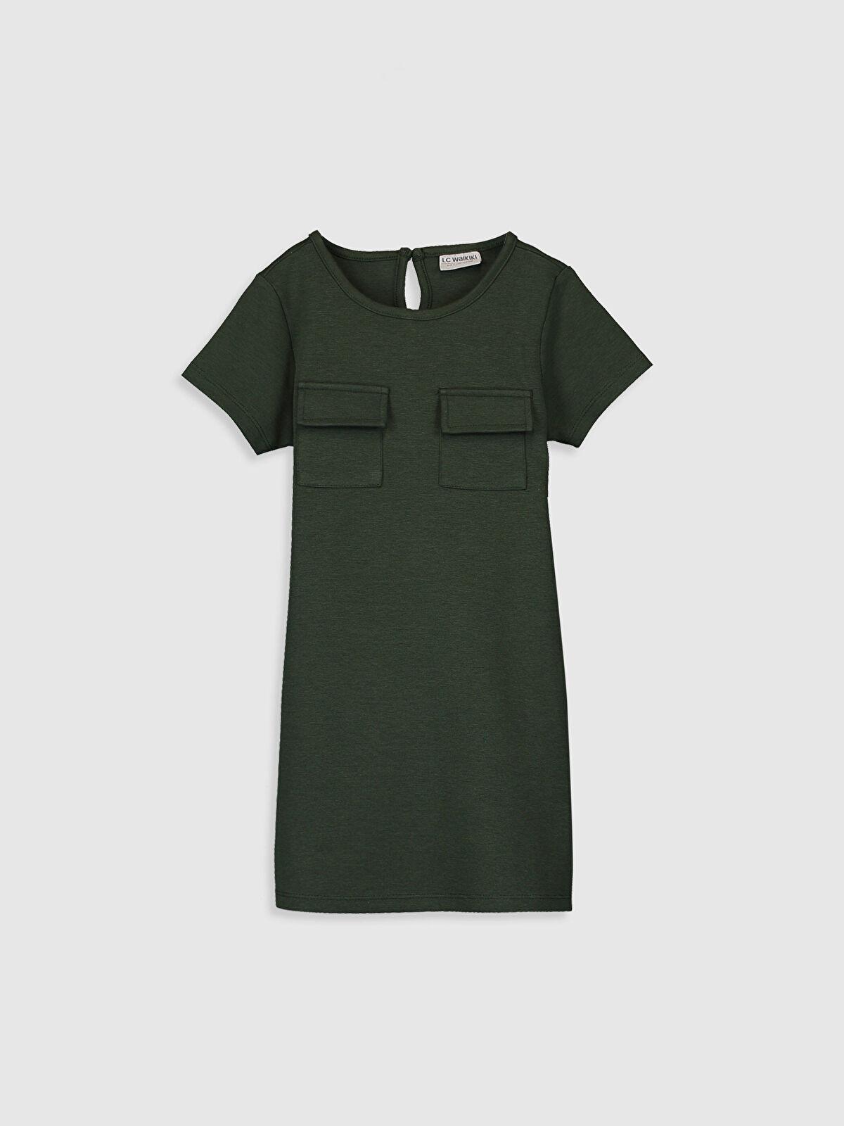 Kız Çocuk Cep Detaylı Elbise - LC WAIKIKI