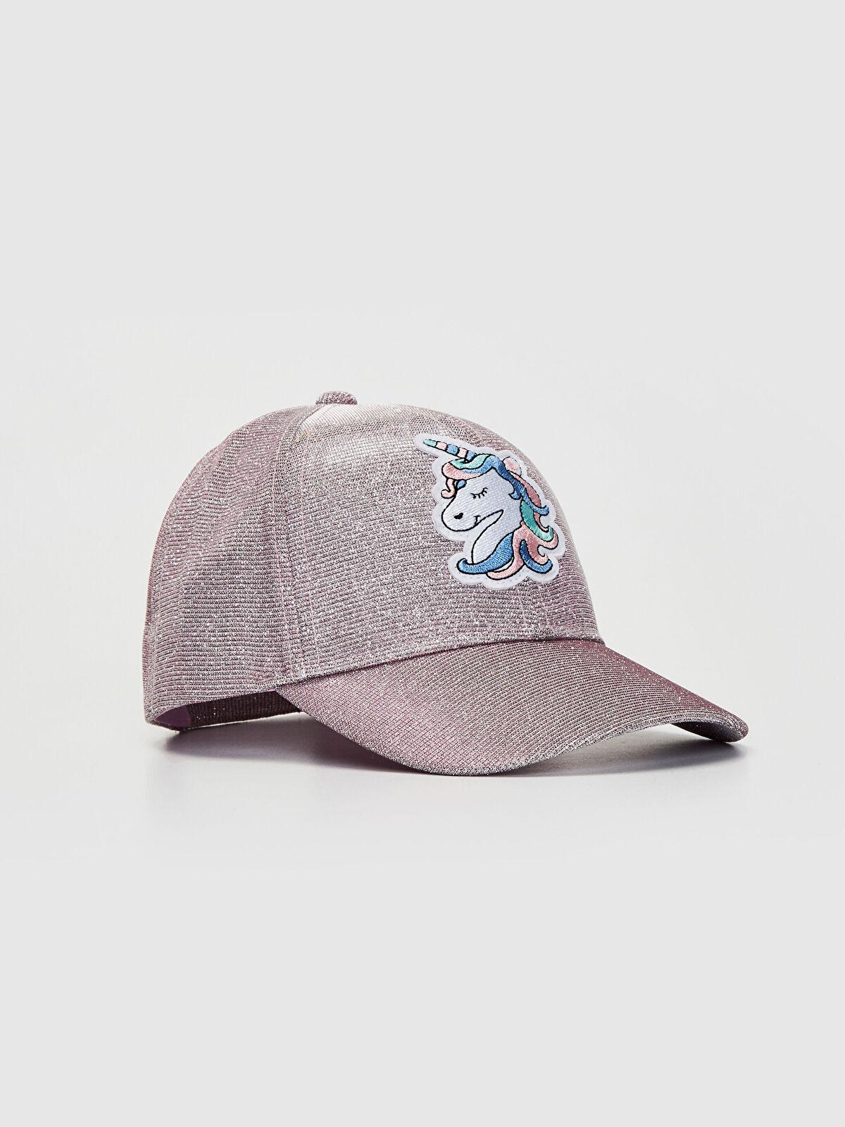 Kız Çocuk Nakışlı Şapka - LC WAIKIKI