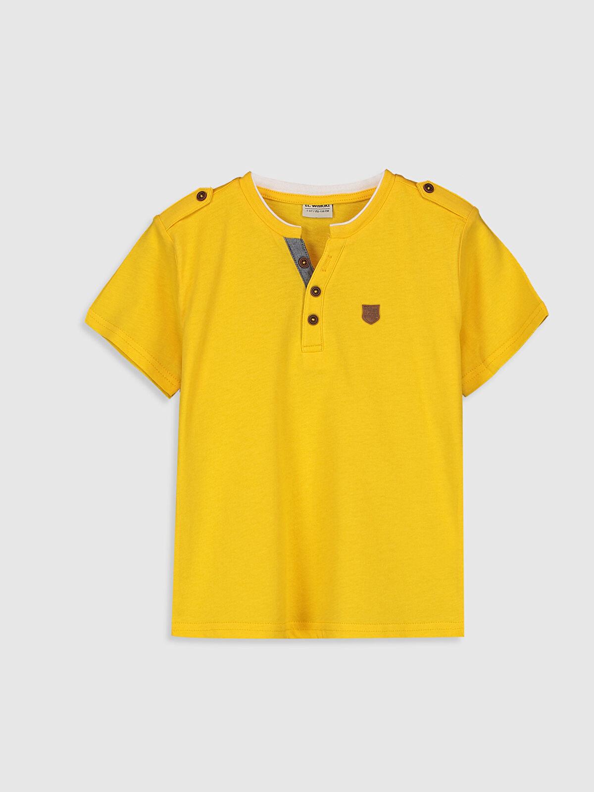 Erkek Çocuk Kısa Kollu Basic Tişört - LC WAIKIKI