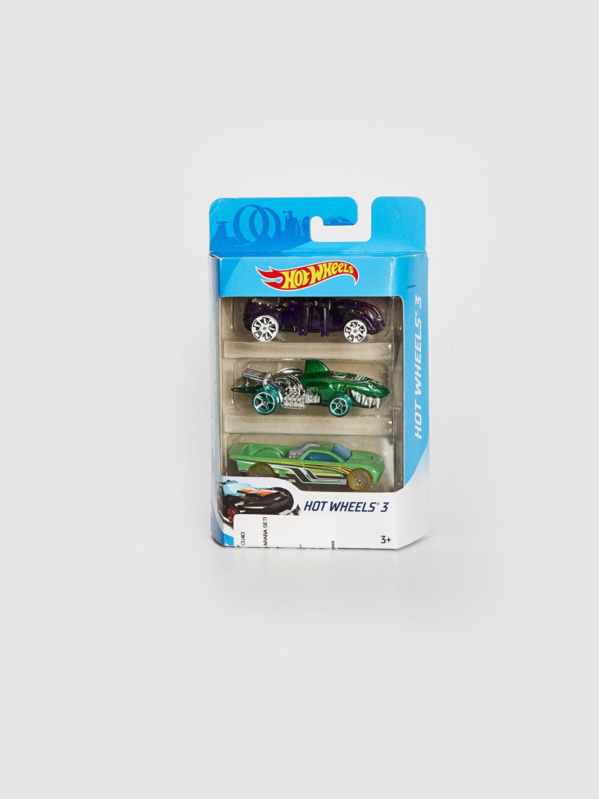Hot Wheels 3'lü Oyuncak Araba Seti - LC WAIKIKI