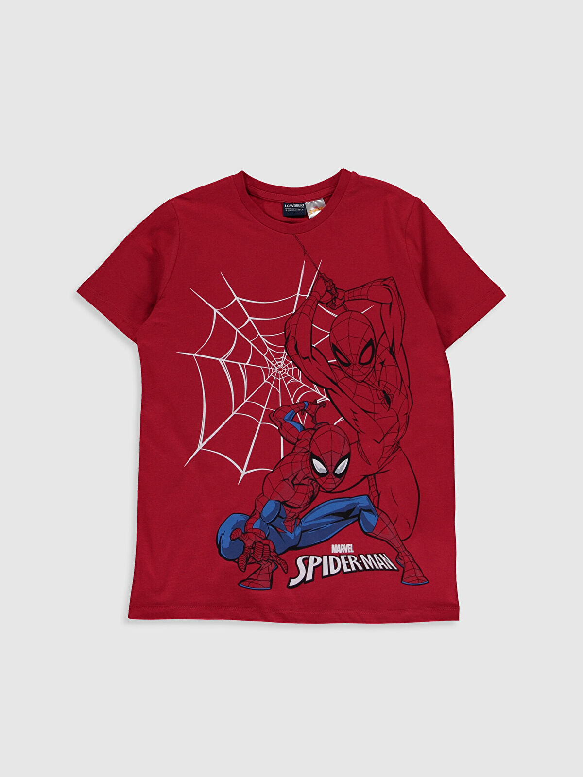 Erkek Çocuk Spiderman Pamuklu Tişört - LC WAIKIKI