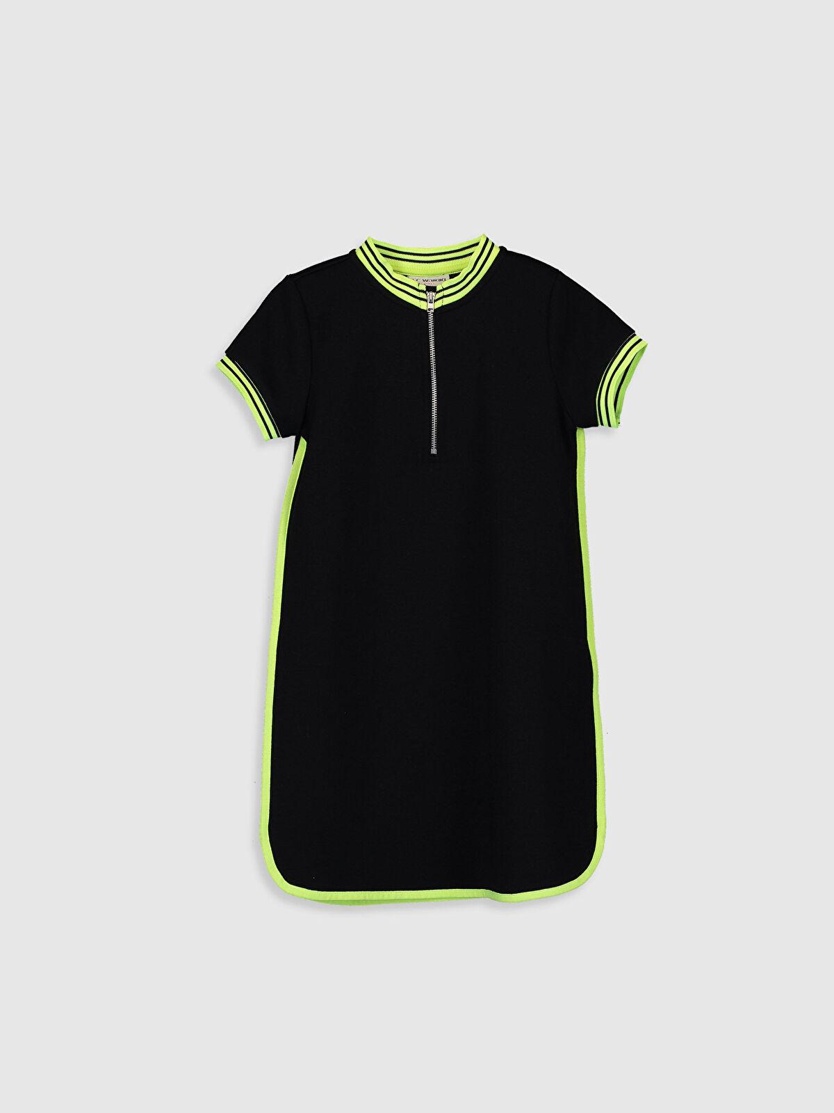 Kız Çocuk Kısa Kollu Elbise - LC WAIKIKI