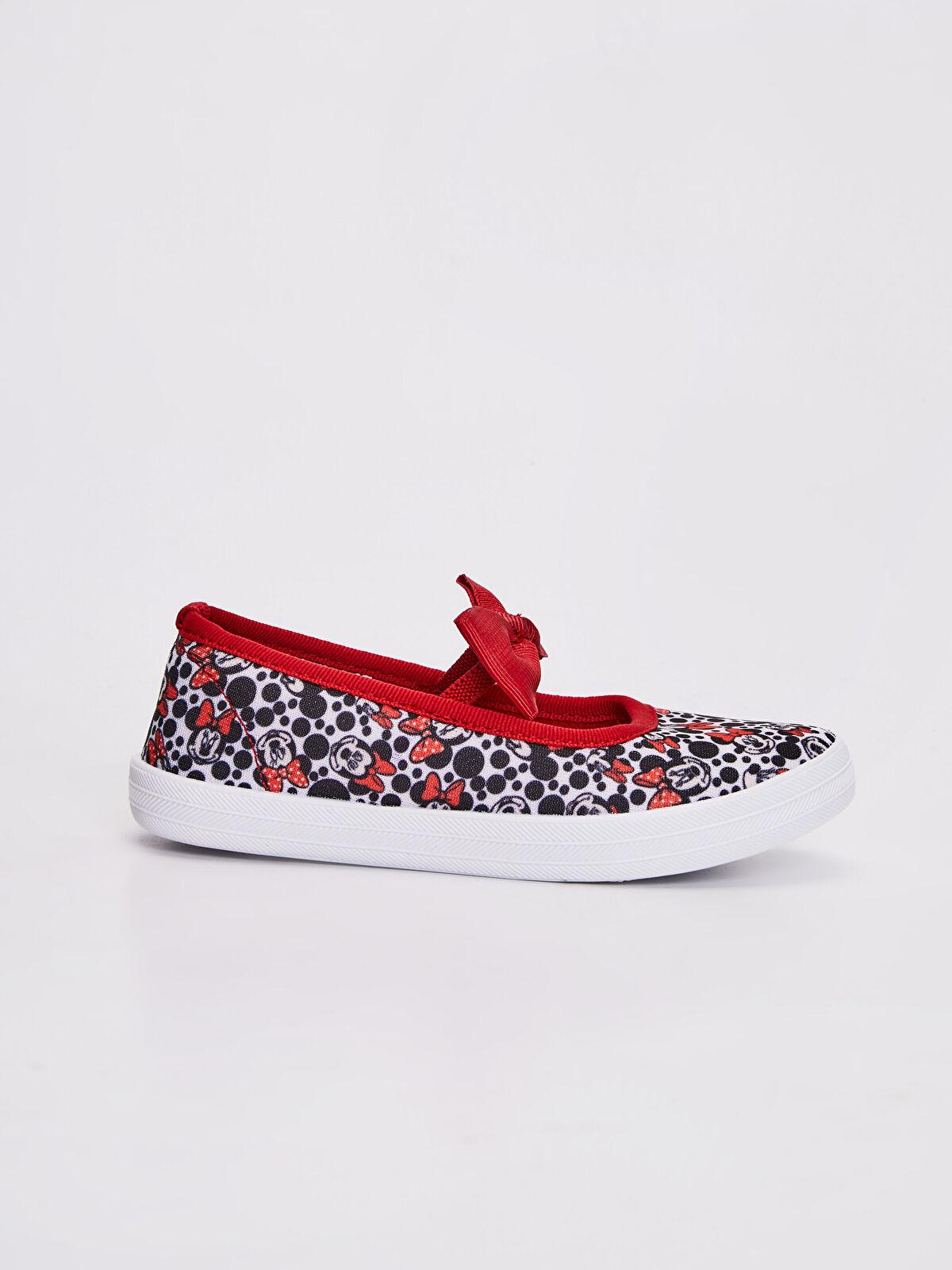 Kız Çocuk Minnie Mouse Baskılı Babet Ayakkabı - LC WAIKIKI