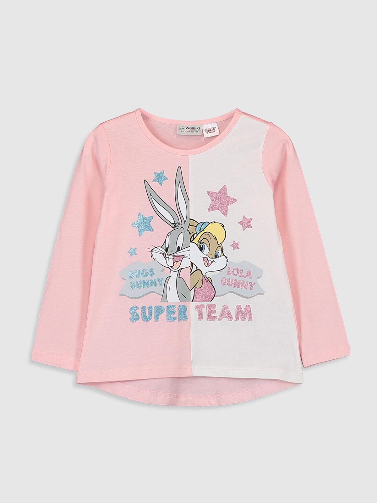 Kız Çocuk Looney Tunes Baskılı Tişört - LC WAIKIKI