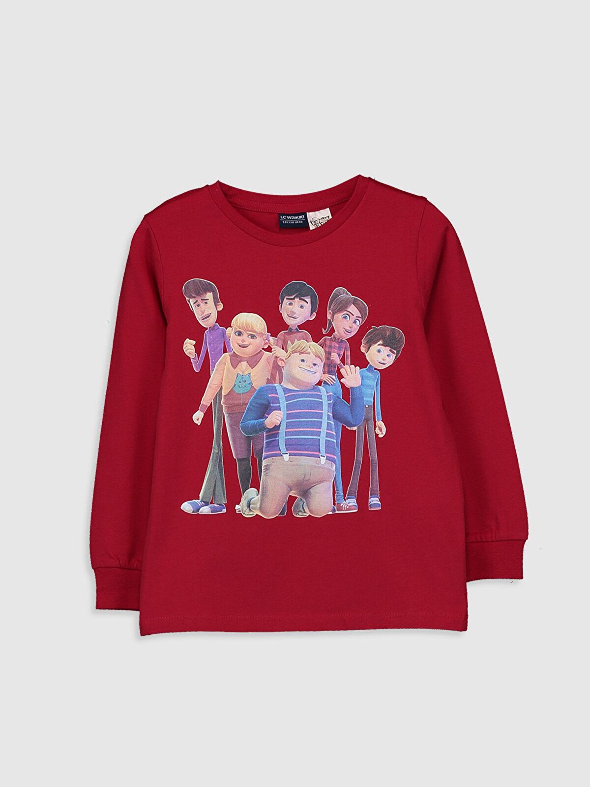 Erkek Çocuk Rafadan Tayfa Baskılı Pamuklu Tişört - LC WAIKIKI