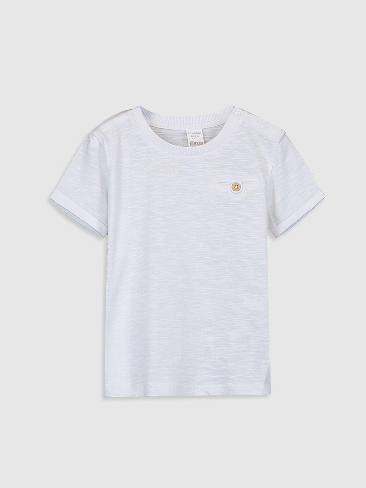 Erkek Bebek Basic Pamuklu Tişört - LC WAIKIKI