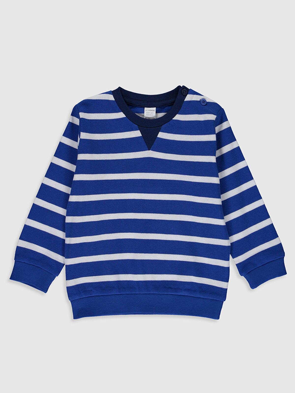 Erkek Bebek Çizgili Sweatshirt - LC WAIKIKI
