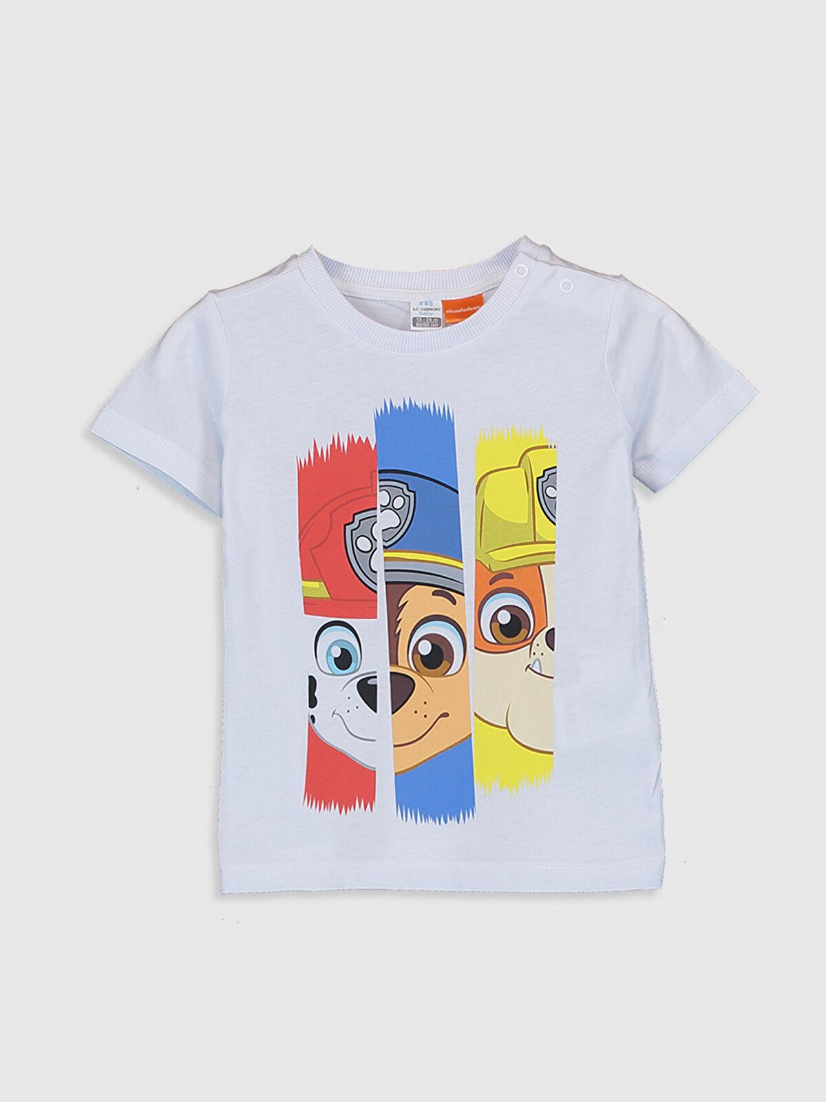 Erkek Bebek Paw Patrol Baskılı Tişört - LC WAIKIKI