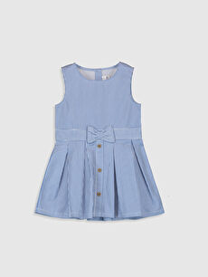 Kız Bebek Çizgili Elbise