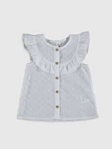 Kız Bebek Pamuklu Gömlek