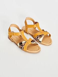 Kız Çocuk T Bant Şık Sandalet
