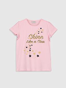 Kız Çocuk Baskılı Tişört