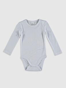 Kız Bebek Pamuklu Çıtçıtlı Body