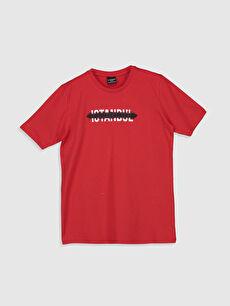 Erkek Çocuk İstanbul Baskılı Pamuklu Tişört