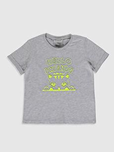Kız Çocuk Baskılı Kısa Kollu Tişört