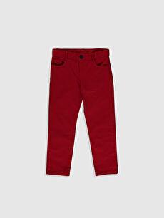 Erkek Çocuk Pamuklu Pantolon