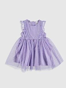 Kız Bebek Tül Etekli Elbise
