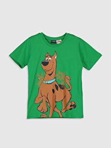 Erkek Çocuk Scooby Doo Baskılı Pamuklu Tişört