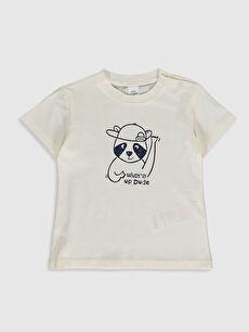 Erkek Bebek Baskılı Tişört