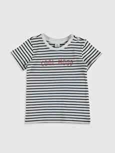 Erkek Bebek Çizgili Tişört