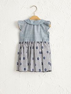 By Leyal For Kids Kız Bebek Desenli Elbise