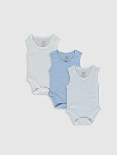 Luggi Baby Pamuklu Çıtçıtlı Body 3'Lü