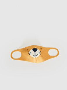 2-8 Yaş Erkek Çocuk Yıkanabilir Yüz Maskesi