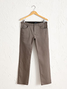 Regular Fit Dokulu Pantolon