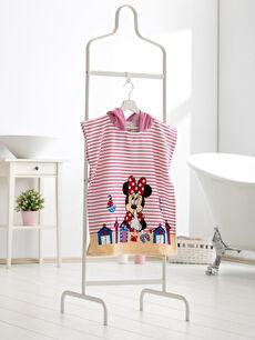 Minnie Mouse Lisanslı Bornoz