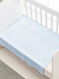 %100 Polyester Baskılı Bebek Battaniye Erkek Bebek Battaniye