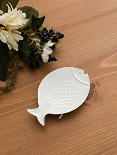 Beyaz Metal Balık Tabak 9S3442Z8 LC Waikiki
